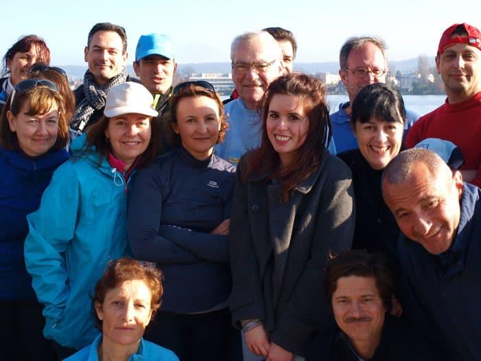équipe de la Société nautique d'Enghien